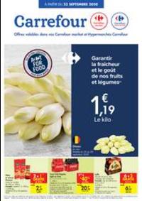 Prospectus Carrefour Market CORBAIS : folder Carrefour Market