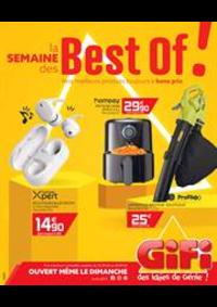 Prospectus Gifi BOLBEC - GRUCHET LE VALASSE : La semaine des Best of!