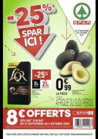Prospectus Spar PARIS 19 : -25% Spar ici !