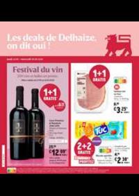 Promos et remises Supermarché Delhaize Ixelles : Nouveau: Promotion de la semaine