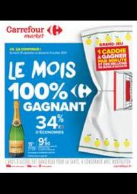 Prospectus Carrefour Market Vaires Sur Marne : Le mois 100% gagnant