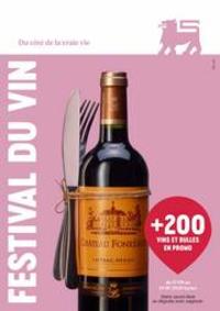 Prospectus Supermarché Delhaize Hornu : Festival Du Vin