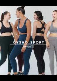 Prospectus Oysho PARIS 74 RUE DE RIVOLI : Nouveautés / Sport
