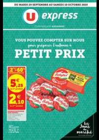 Prospectus U Express PARIS - R. MONTREUIL : Catalogue U Express