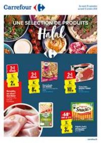 Prospectus Carrefour Drancy : Une selection de produits Halal