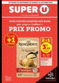 Prospectus Super U PARIS - AV. CLICHY : Catalogue Super U