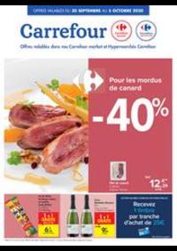 Promos et remises Carrefour Market SPY : folder Carrefour Market