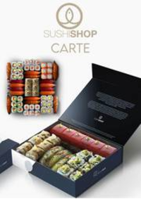 Prospectus Sushi shop PARIS 52 Rue de Rivoli : Carte Sushi Shop