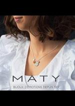 Prospectus Maty : Les Nouveautés