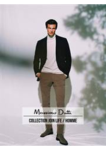 Catalogues et collections Massimo Dutti : Collection Join Life  Homme