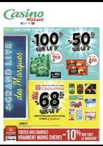 Prospectus Géant Casino : Le grand live des marques