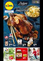 Prospectus Lidl : La Sélection Prestige !