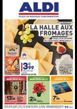Prospectus Aldi : LA HALLE AUX FROMAGES