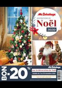 Prospectus Mr. Bricolage BRAINE L'ALLEUD Mont Saint Jean : Catalogue Noël 2020