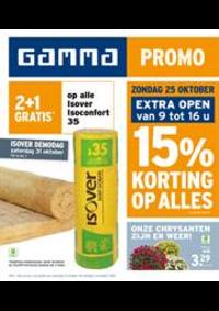 Prospectus GAMMA UCCLE : Promo
