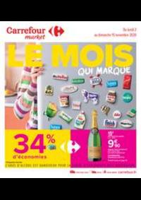 Promos et remises Carrefour Market Melun : Le mois qui marque