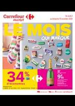 Promos et remises Carrefour Market : Le mois qui marque
