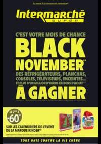 Prospectus Intermarché Super Ris Orangis : BLACK NOVEMBER