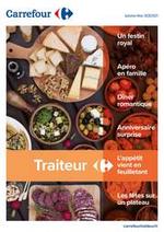 Services et infos pratiques Carrefour : Traiteur - Un buffet bien volontiers