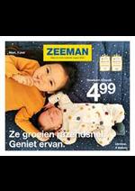 Prospectus Zeeman : Baby en kin collectie najaar 2020