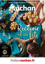 Prospectus Auchan : Recevoir est une fête