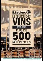 Guides et conseils E.Leclerc : Le guide des vins 2019-2020
