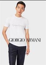 Prospectus Armani : Les Nouveautés Homme