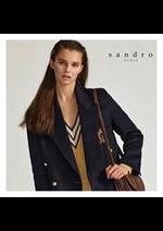 Prospectus Sandro : Les Nouveautés Femme
