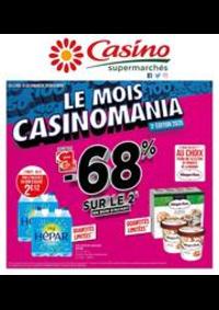 Promos et remises Supermarchés Casino ANDRESY : Le mois Casinomania