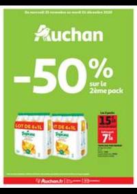 Promos et remises Auchan Vélizy : Encore des bons plans !