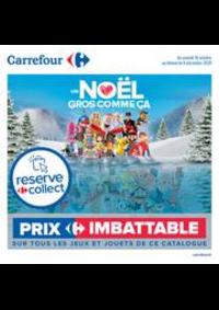 Prospectus Carrefour CHARENTON LE PONT : Découvrez nos jouets de noël !