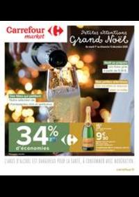 Prospectus Carrefour Market CACHAN : Petites attentions Grand Noël