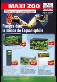 Prospectus Maxi zoo Montigny-lès-Cormeilles : Plongez dans le monde de l'aquariophilie