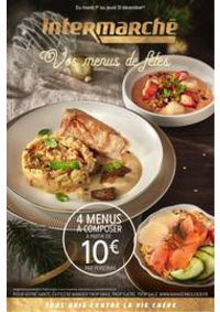 Prospectus Intermarché Super Mery-sur-Oise : Vos menus de fêtes
