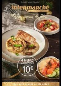 Prospectus Intermarché Super Villemomble : Vos menus de fêtes