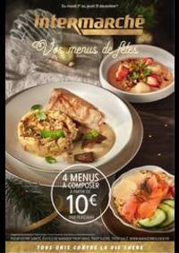 Prospectus Intermarché Super Jouars-Pontchartrain : Vos menus de fêtes