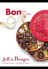 Prospectus Jeff de Bruges Paris 88 rue Lecourbe : Bon Noël 2020