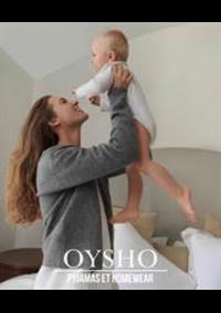 Prospectus Oysho PARIS 74 RUE DE RIVOLI : Pyjamas et Homewear