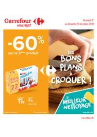 Prospectus Carrefour Market NANTERRE : Des bons plans à croquer