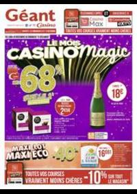 Prospectus Géant Casino BESANÇON : Le mois Casinomagic
