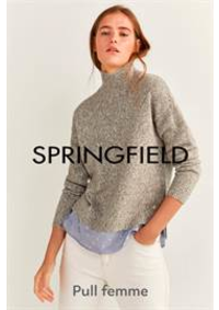 Prospectus Springfield Anderlecht Cora Shopping Center : Pull femme