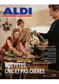 Journaux et magazines Aldi HANNUT : Folder Aldi