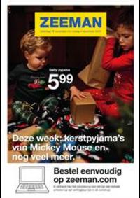 Prospectus Zeeman Champion : Deze week: kerstpyjama's van Mickey Mouse en nog veel meer