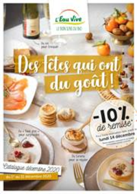 Prospectus L'Eau Vive CLAYE SOUILLY : Catalogue Noël 2020