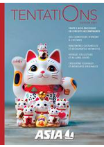 Tarifs Asia : Tentations 2021
