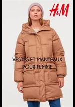 Prospectus H&M : VESTES ET MANTEAUX POUR FEMME