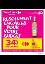 Prospectus Carrefour Market : Résolument Engagés Pour Votre Budget