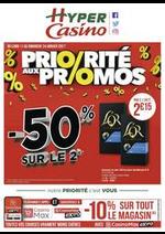 Promos et remises Supermarchés Casino : Priorité aux promos