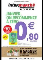 Prospectus Intermarché Hyper : JANVIER, ON RECOMMENCE À ZÉRO