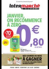 Prospectus Intermarché Super Allinges : JANVIER, ON RECOMMENCE À ZÉRO